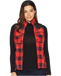Ariat - County Vest (salsa Buffalo Plaid) Women's Vest - Lyst