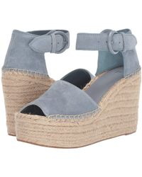 2cebf864aea Marc Fisher - Alida Espadrille Wedge (light Pale Rust Kid Suede) Women s  Shoes -