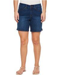 NYDJ - Petite Jenna Shorts W/ Mini Side Slit In Cooper In Cooper (cooper) Women's Shorts - Lyst