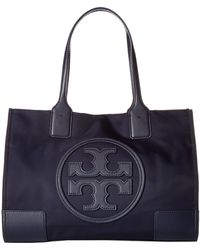 ddad420dbc5a Tory Burch - Ella Mini Tote (black) Tote Handbags - Lyst