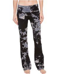 Hard Tail - Rolldown Bootleg Flare Pants (cloud Wash 1) Women's Casual Pants - Lyst