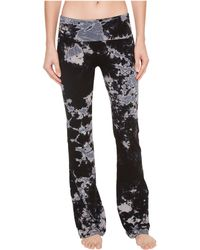 Hard Tail - Rolldown Bootleg Flare Pants (ombre Wash 6) Women's Casual Pants - Lyst