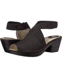 47aaff0bab9 Fly London - Wate944fly (black Cupido) Women s Shoes - Lyst