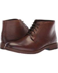 Nunn Bush - Middleton Plain Toe Chukka (cognac) Men's Shoes - Lyst