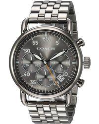 COACH - Delancey - 14602375 (grey) Watches - Lyst