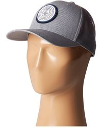 276d6be7237 Travis Mathew - Trip L (heather Grey Pinstripe) Caps - Lyst