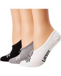 Vans - Basic Assorted Canoodles 3-pack (multi) Women's No Show Socks Shoes - Lyst
