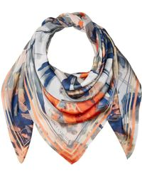 Vince Camuto - April Showers Oversize Square Scarf - Lyst