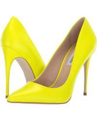 4bd098ab13d9 Lyst - Steve Madden Daisie Pump (dark Blush Patent) Women s Shoes