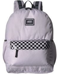 c6632183043 Vans - Sporty Realm Plus Backpack (black face Off) Backpack Bags - Lyst