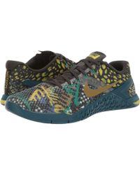 Nike Metcon 4 Sneakers In Khaki Camo - Multicolor