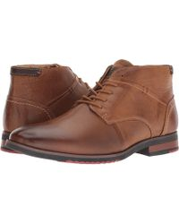 Steve Madden - Melded (dark Tan) Men's Shoes - Lyst