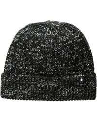 b191b46de94 Lyst - Smartwool Diamond Cascade Hat (tibetan Red) Beanies in Black ...