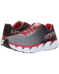 Hoka One One - Elevon (black/racing Red) Men's Running Shoes - Lyst