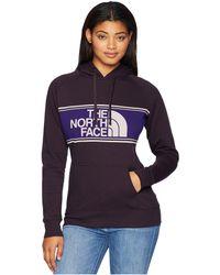 The North Face - Edge To Edge Pullover Hoodie (rabbit Grey) Women's Sweatshirt - Lyst