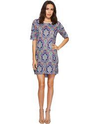 Nally & Millie - Paisley Sweater Dress (multi) Women's Dress - Lyst