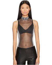 Versus - Jersey Donna Bodysuit - Lyst
