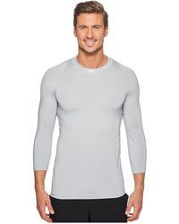 483b9e2b0 Nike Pro Core Fitted Long Sleeve Top 2.0 in White for Men - Lyst