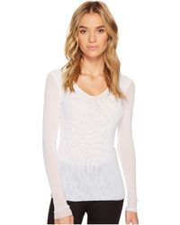 Only Hearts - Tulle Long Sleeve V-neck - Lyst