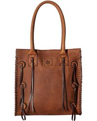 STS Ranchwear - Large Chaps Satchel (brown) Handbags - Lyst