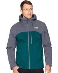 3f78f53ebddd Lyst - The North Face Canyonlands Triclimate Jacket in Green for Men