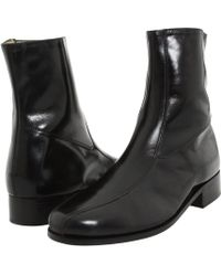33d6b976edf Nunn Bush - Bristol Side Zip Ankle Boot (black) Men s Boots - Lyst