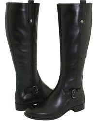 La Canadienne - Stefanie (black Leather) Women's Waterproof Boots - Lyst