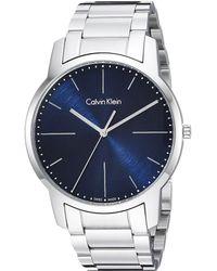 Calvin Klein - City Watch - K2g2g1zn (blue/silver) Watches - Lyst