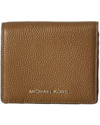 538aff24cf8b MICHAEL Michael Kors - Mercer Carryall Card Case (Luggage) Credit Card  Wallet - Lyst