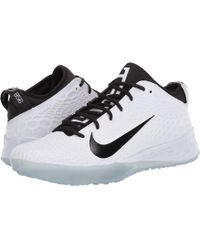 ddac85e6127 Nike Force Zoom Trout 3 Turf Men s Baseball Shoe in Black for Men - Lyst