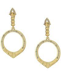 House of Harlow 1960 - Luna Stone Earrings - Lyst