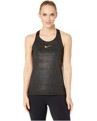 8f53eab40e9b9 Lyst - Nike Sportswear Essential Tank in Black