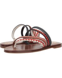 Tory Burch - Patos Embroidered Sandal - Lyst