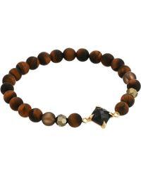 Chan Luu - Semi-precious Stone Stretch Bracelet (tigers Eye Mix) Bracelet - Lyst
