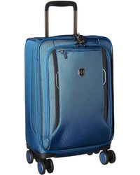 Victorinox - Werks Traveler 6.0 Frequent Flyer Softside Carry-on (blue) Carry On Luggage - Lyst