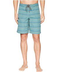 Toad&Co - Cetacean Trunk (terra Cotta Stitch Print) Men's Swimwear - Lyst