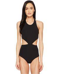 Flagpole Swim - Lynn One-piece (black) Women's Swimsuits One Piece - Lyst