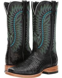 69a2b2668de Ariat - Relentless Gold Buckle (caramel Caiman Belly amberglow Ace) Cowboy  Boots -