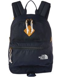 The North Face - Mini Mini Berkeley (mid Grey/tnf Black) Backpack Bags - Lyst