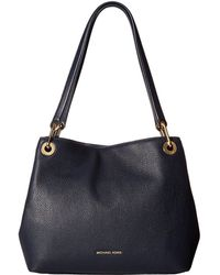MICHAEL Michael Kors - Raven Large Shoulder Tote (acorn) Tote Handbags - Lyst