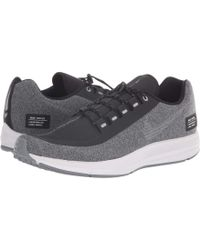1fc0c54ab34f7 Nike - Air Zoom Winflo 5 Run Shield (black metallic Silver hyper Royal