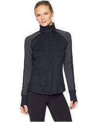 Brooks - Dash 1/2 Zip (heather Iris) Women's Long Sleeve Pullover - Lyst