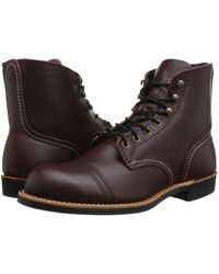 Red Wing - 6 Iron Ranger Lug (oxblood Mesa) Men's Lace-up Boots - Lyst