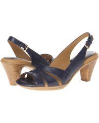 a9e522ae041 Comfortiva - Neima - Soft Spots (taupe Metallic) Women s Dress Sandals -  Lyst