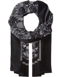 MICHAEL Michael Kors - Delicate Lace Print Oblong (white) Scarves - Lyst