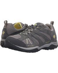 Columbia - Dakotatm Drifter Waterproof (pebble/poppy Red) Women's Shoes - Lyst