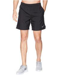 Nike - Challenger 7 Running Short (black/black/black) Men's Shorts - Lyst