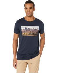 BOSS Green - Mountain Logo Graphic Tee (navy) Men's T Shirt - Lyst
