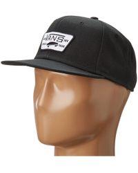 a9182990701 Vans - Full Patch Snapback (heather Grey) Caps - Lyst