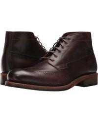Wolverine - Harwell Chukka (brown Leather) Men's Work Boots - Lyst